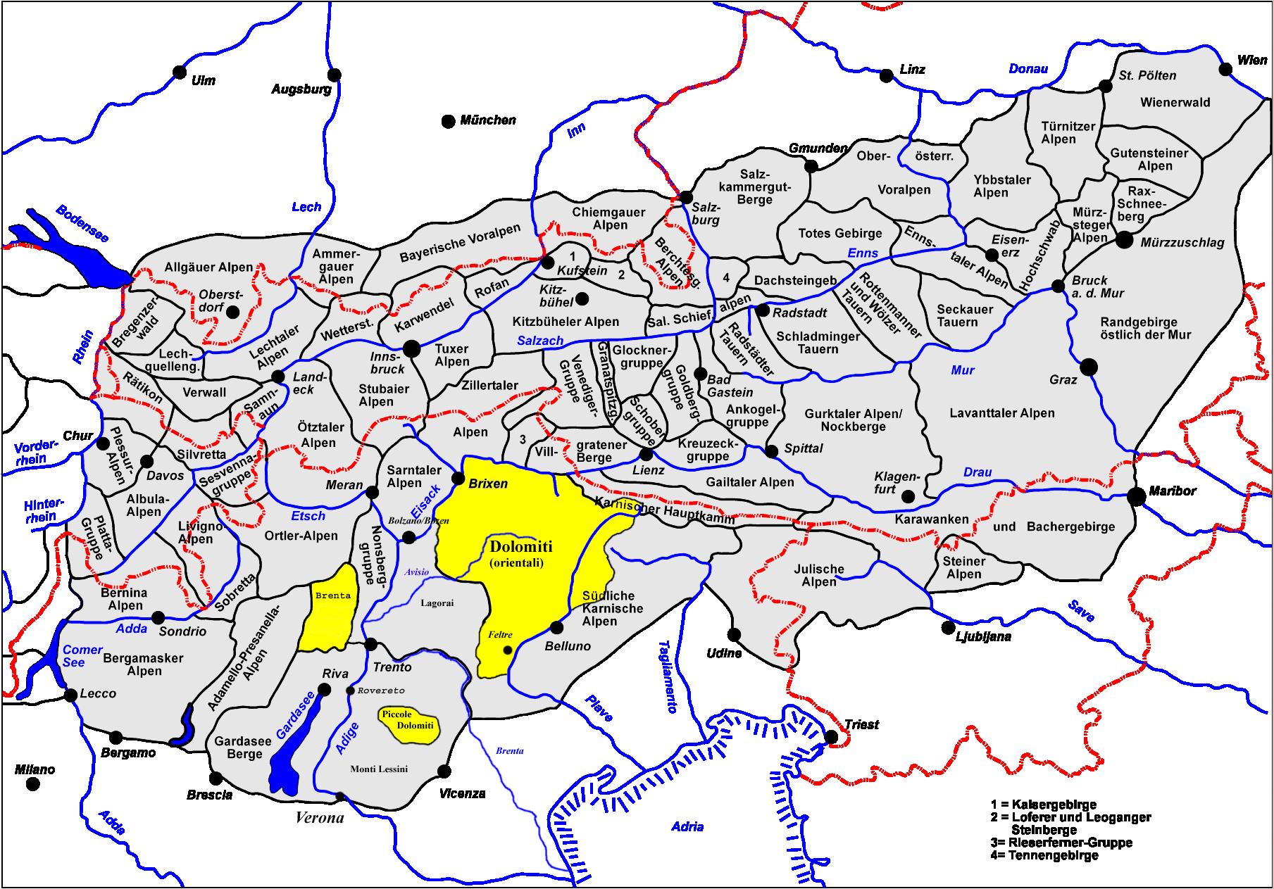 mapa severna italija Dolomiti Superski » skibus.rs mapa severna italija